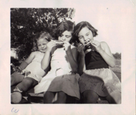 Barbara and Cousins as children