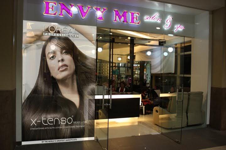 Envy me salon envy me salon spa now at robinsons place - My place salon de the ...