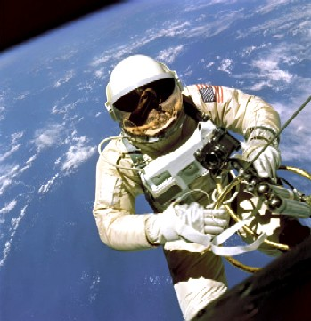 Imagem Astronauta no Espaço