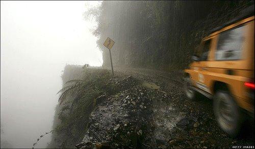 Estrada perigosa