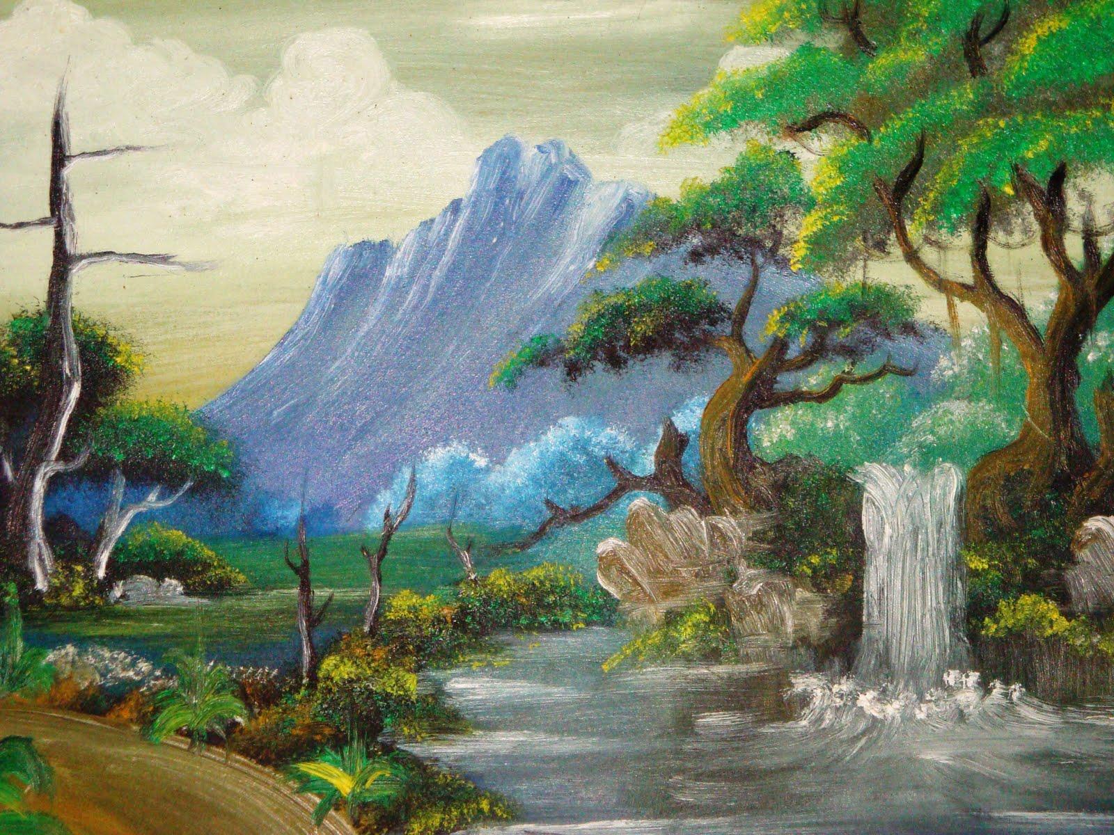 Lukisan alam