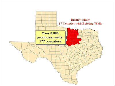 Barnett shale maps click on any map to view it full size publicscrutiny Gallery