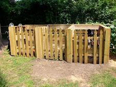 3-Bay Pallet Compost Bin