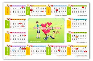 Kalender 2010 Indonesia Lengkap Download Gratis
