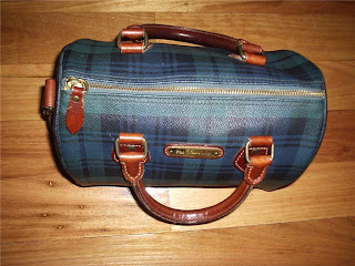 a49550b7ac1a EX-LOVES FOR SALE  Vintage Polo Ralph Lauren Check Speedy Bag