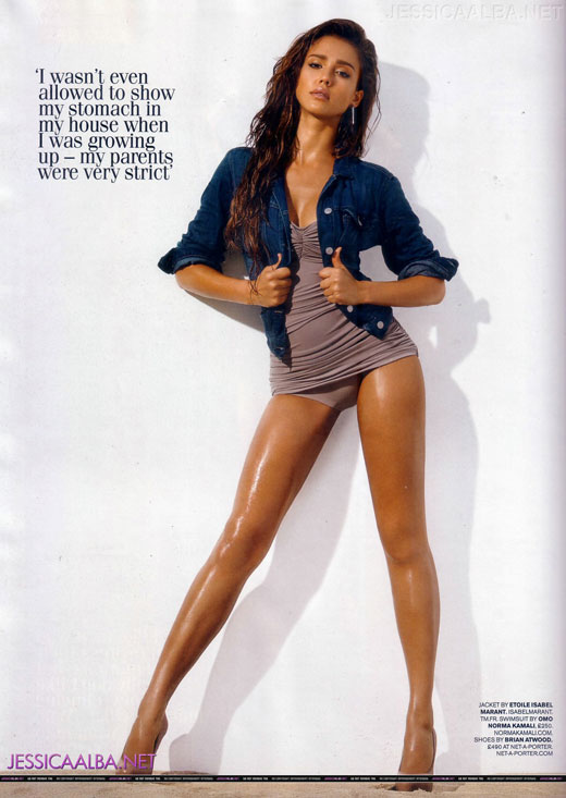 Jessica Alba in Elle Dec, Marie Claire Nov, GQ Nov 2010