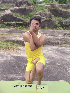 Vatayanasana : Yoga fo...