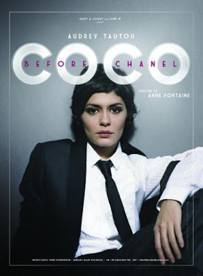 Audrey Tautou Coco Before Chanel Movie Poster