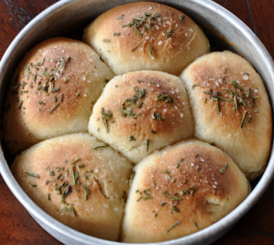 Buttered Rosemary Buns