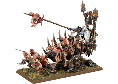 Corpse+Cart Conversion   Herald of Khorne in Chariot