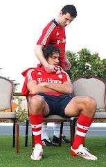 Luca Toni e compagno....di squadra