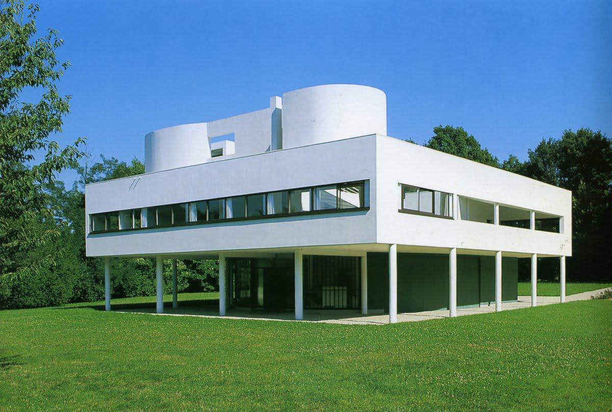 Cavica proyectos de arquitectura maison savoye 1928 30 for Conceptualizacion de la arquitectura
