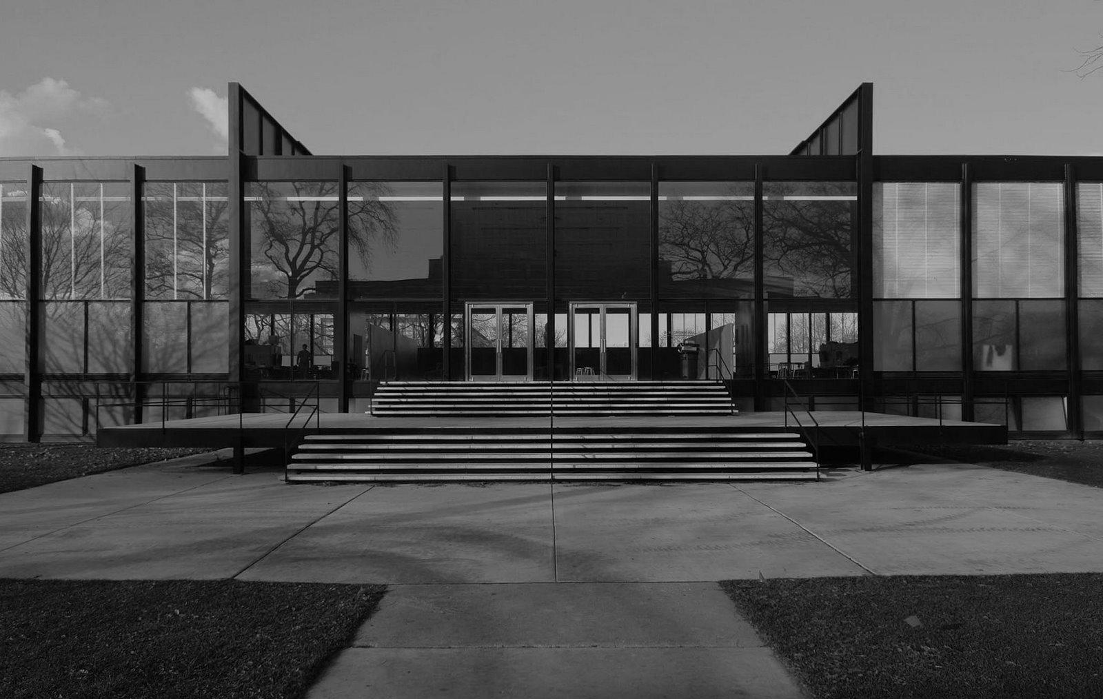 Mies Van Der Rohe, The Crow Hall (1950-69)