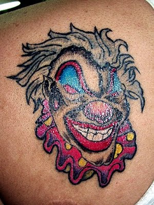Bow Wow Tattoos · Tattoo Me Now -clown skin rip tattoos