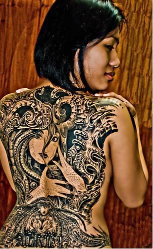 Fee Tattoo Design Pretty Back Tattoos for Girls pretty back tattoos