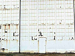 Hanger door on Ford Island Sept 2007