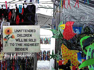 Unattended Children Will Be Sold (c) David Ocker