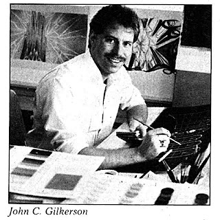 John C Gilkerson designer of puppets for A Zappa Affair