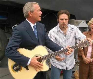 George Bush musician