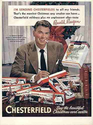 Spokesman for Chesterfield Cigarettes