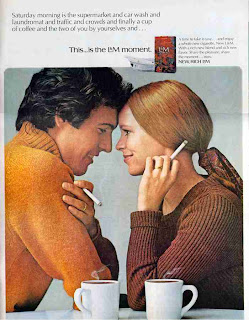 L&M Cigarette advertisement November 1970