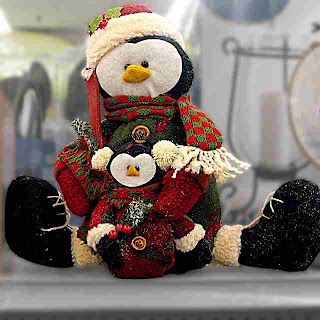 Stuffed Christmas Penguin 2 - (c)David Ocker