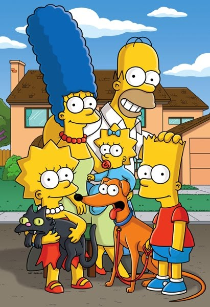 The Simpsons as The Simpsons
