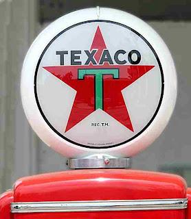 Texaco gasoline pump logo Pasadena CA (c)David Ocker