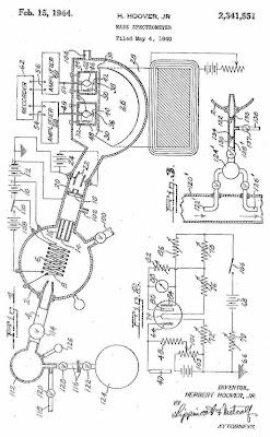 Mass Spectrometer patent Herbert Hoover Jr.