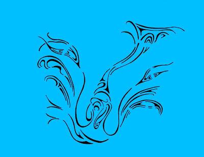 Blue Doodle 2 (c) David Ocker