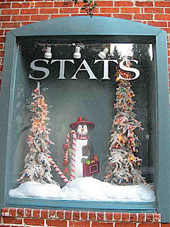 Christmas Penguin in Stats Window