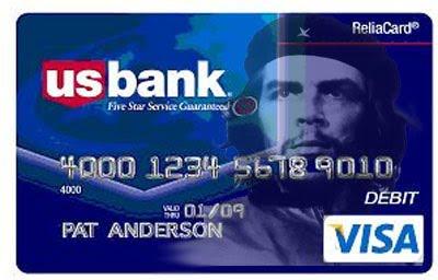 Che Guevara Visa card