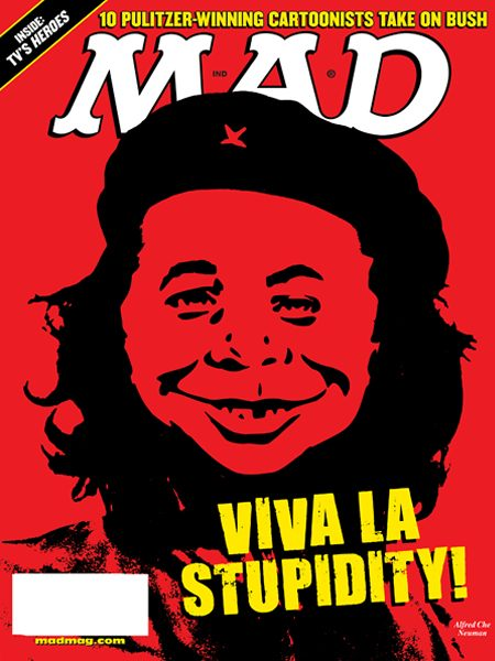 Che Guevara Mad Magazine cover