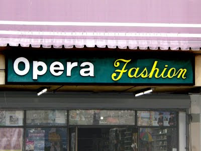 Musical Signs - Opera Fashions