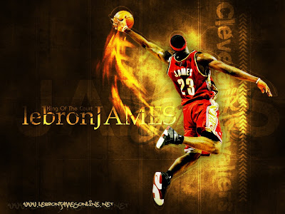 lebron james dunking on kobe bryant. kobe bryant dunking on lebron