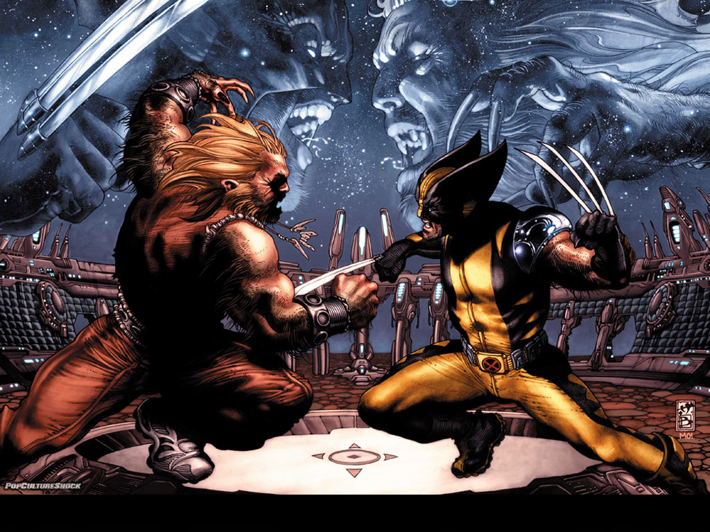 sabre-tooth vs wolverine
