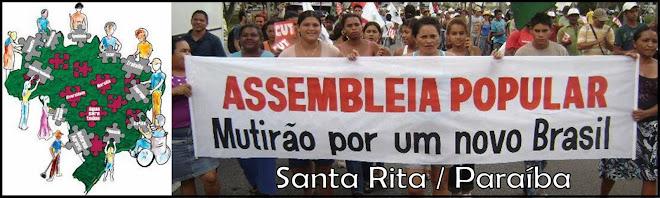 """O FORMIGUEIRO"" - Assembleia Popular - Santa Rita/PB"