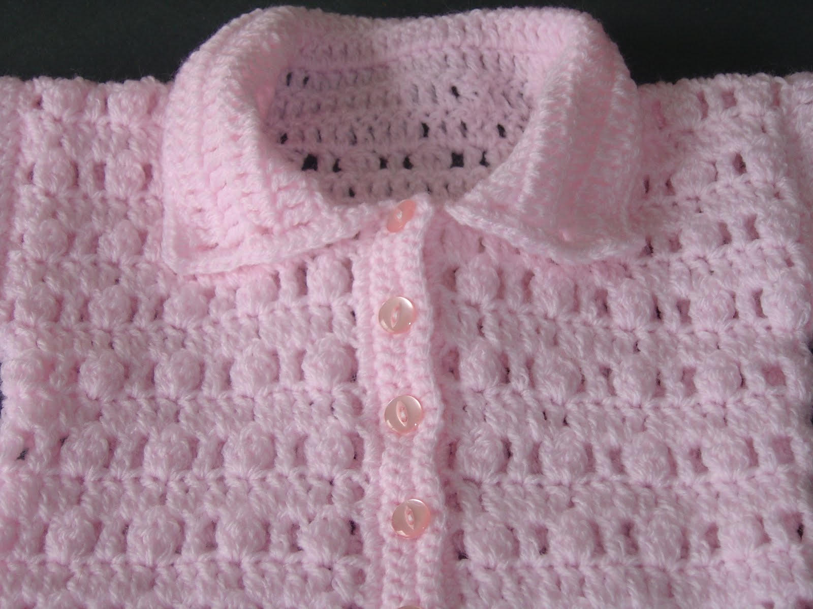 Crochet Baby Girl Cardigan Pattern Free : Free Crochet Baby Sweater Patterns Patterns Gallery