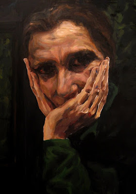 era-mi-alegria-lucie-geffre-pintura-oleo-retrato-portrait-greensleeves