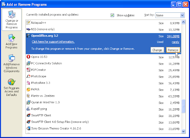 Remove Program Dari Regedit