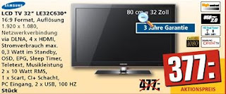 Samsung LE32C630 REWE-LCD-TV