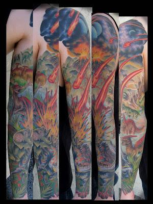Rainforest Tattoo Sleeve
