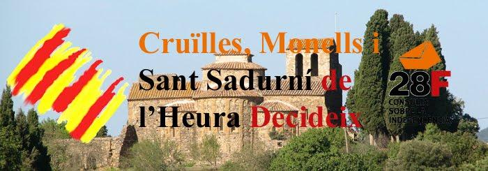 Cruilles, Monells i Sant Sadurní de l'Heura