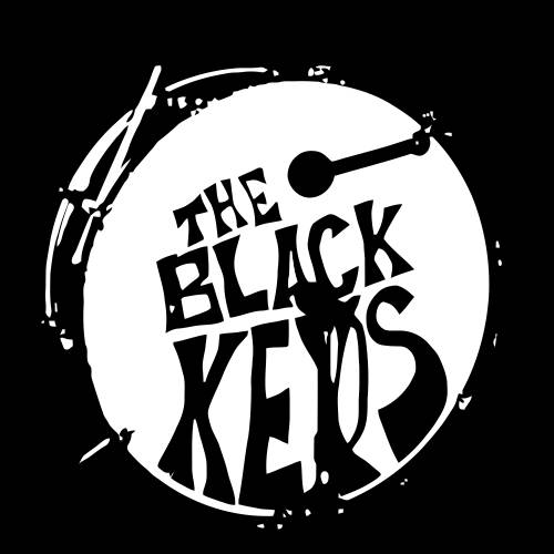 Black Keys Drums a Black Keys' Drum Logo