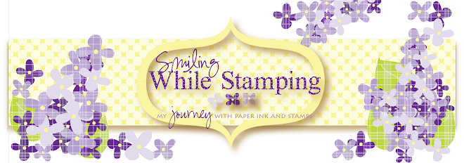 Smiling while Stamping