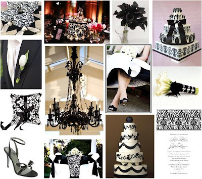 black and white wedding decor. black and white wedding tables. Wedding Inspiration