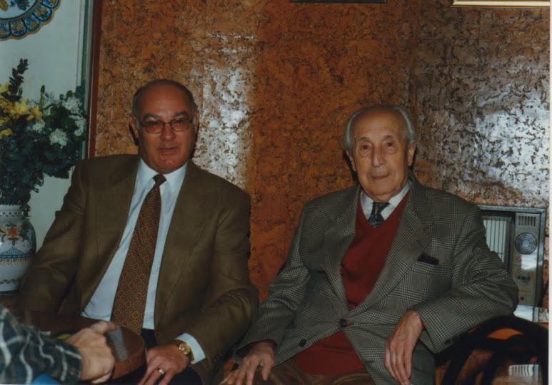 Con D. Emilio Casares.