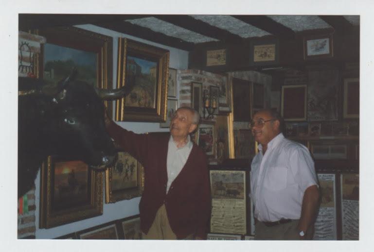 Con D. Emilio en museo