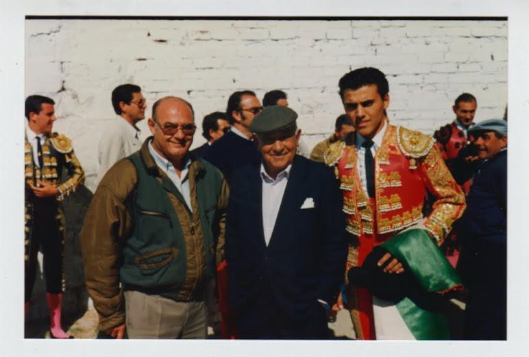 Con César Manrique y abuelo