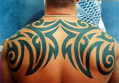 New Tribal Tattoos for Men